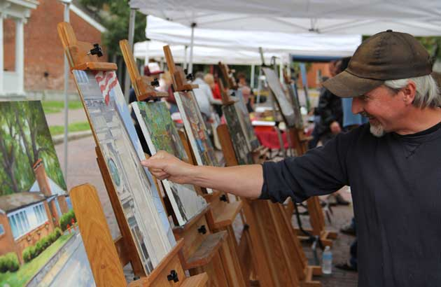 Plein Air Art Auction & Street Fair