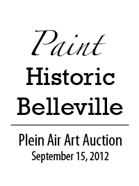 Belleville Historical Society Plein Air Art Auction | September 15, 2012
