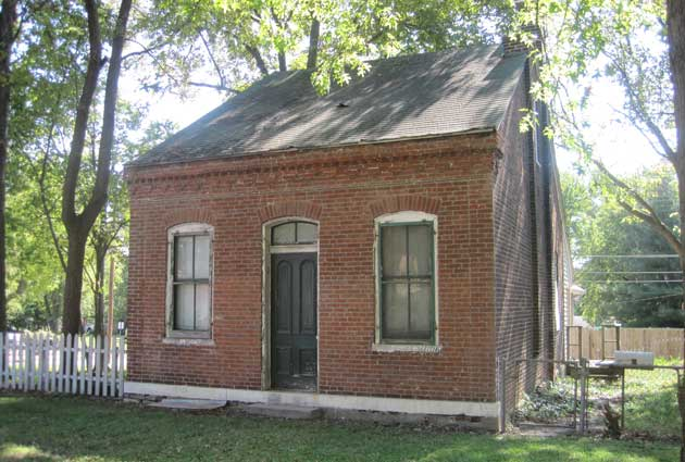 Mauer-Ebeling house in the old Village of West Belleville