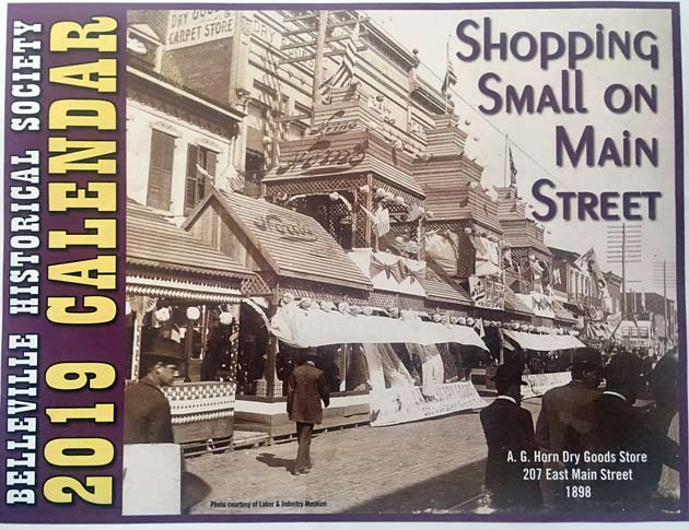 2019 calendar: Shopping Small in Belleville